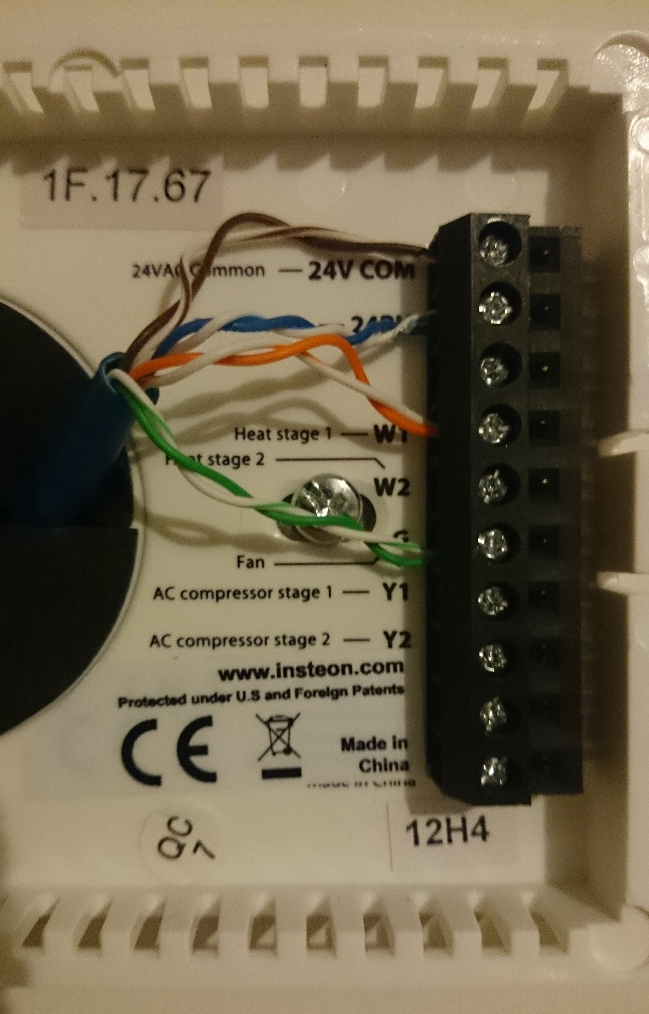 Insteon Thermostat Wiring Diagram R33 Auto Data Today1998 Chevy Trailer Ke Schematic Electrical